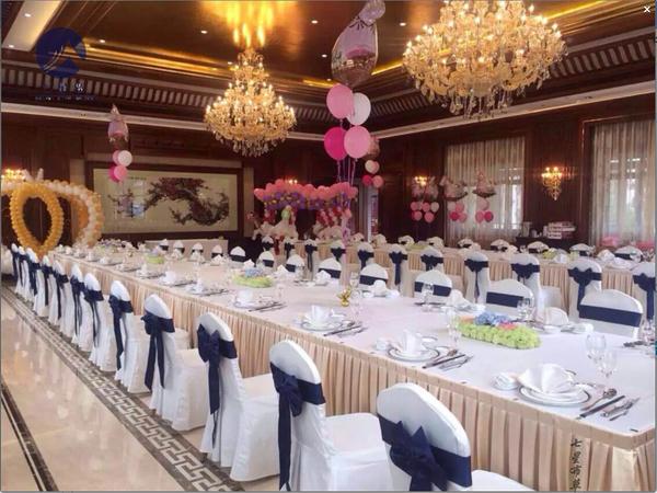 七星岛布草助力東磁大厦欢迎晚宴-
