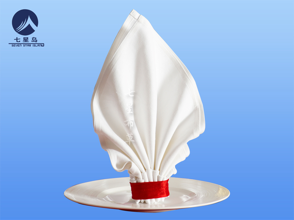 白棉餐桌口布-