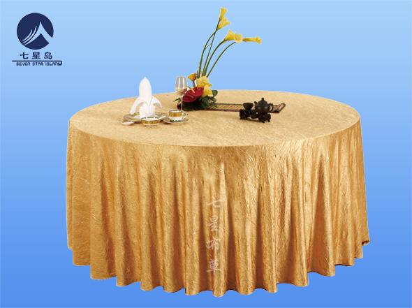 金色桌布-