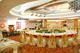 14-4金华国贸景澜大饭店双色幔宴会桌