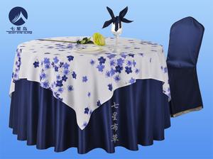 七星岛餐厅台布---花海系列餐桌台布
