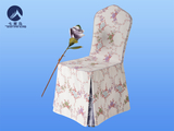 田园风椅套定制 -