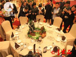 中餐宴会摆台-养生健康主题图片