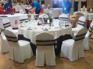 2015年全国中餐摆台设计大赛——《岁月间》
