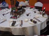 2015全国宴会主题摆台设计大赛-《宴友会书》