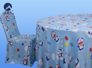 卡通桌布椅套-哆啦A梦-哆啦A梦儿童桌布