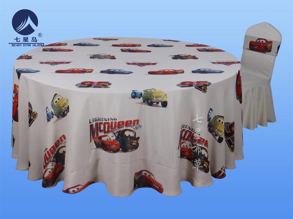 生日宴桌布椅套-汽车总动员-汽车总动员