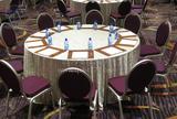 七星岛布草倾力打造黄龙饭店宴会厅和会议厅