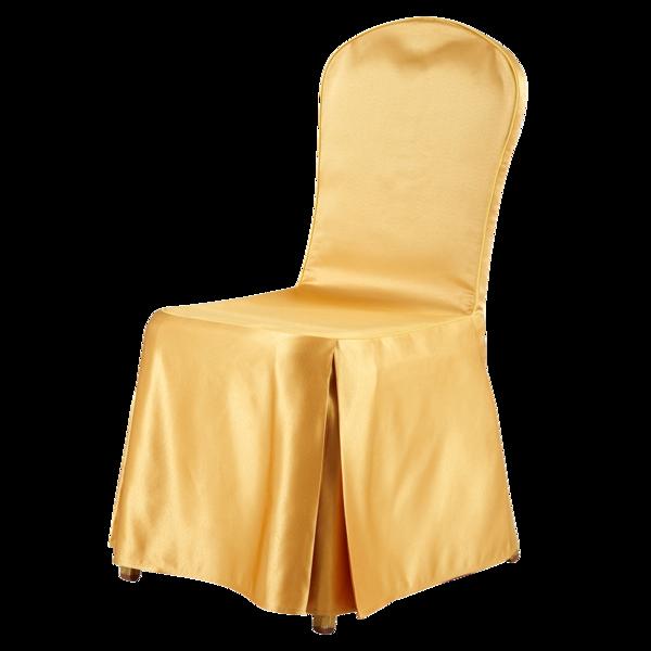 缎面金黄色椅套-七星岛缎面金黄色椅套