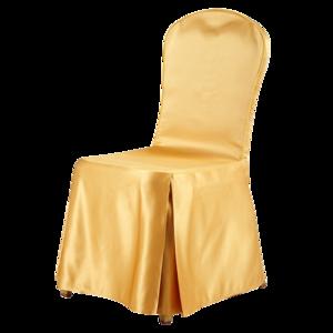 缎面金黄色椅套 -七星岛缎面金黄色椅套
