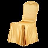 缎面金黄色椅套 -