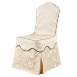 包厢椅套七星波浪腰双层椅套 -QXYT008