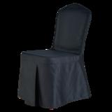 黑色含棉酒店椅套