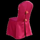 七星岛椅套经典婚宴椅套宴会高档椅套