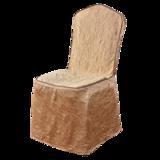 绉布椅套牙白会议椅套 -七星岛绉布椅套