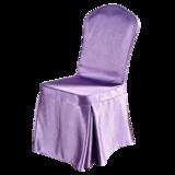 紫色婚宴椅套 -