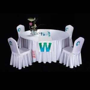 七星岛杭州文化主题桌布椅套 -HZEHZTZBZQ