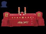 七星岛龙凤主题婚宴签到台 -龙凤婚宴签到台