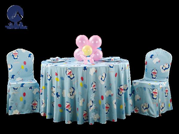 儿童生日宴卡通台布-哆啦A梦-
