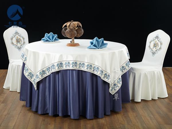 七星岛泰式风情宴会台布-