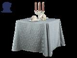 七星岛方圆角西餐台布 -西餐台布-三维