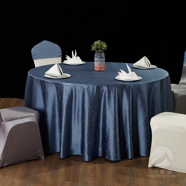 七星岛中餐布草星空桌布-