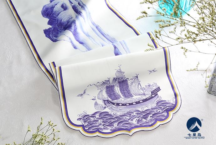 七星岛博鳌桌旗