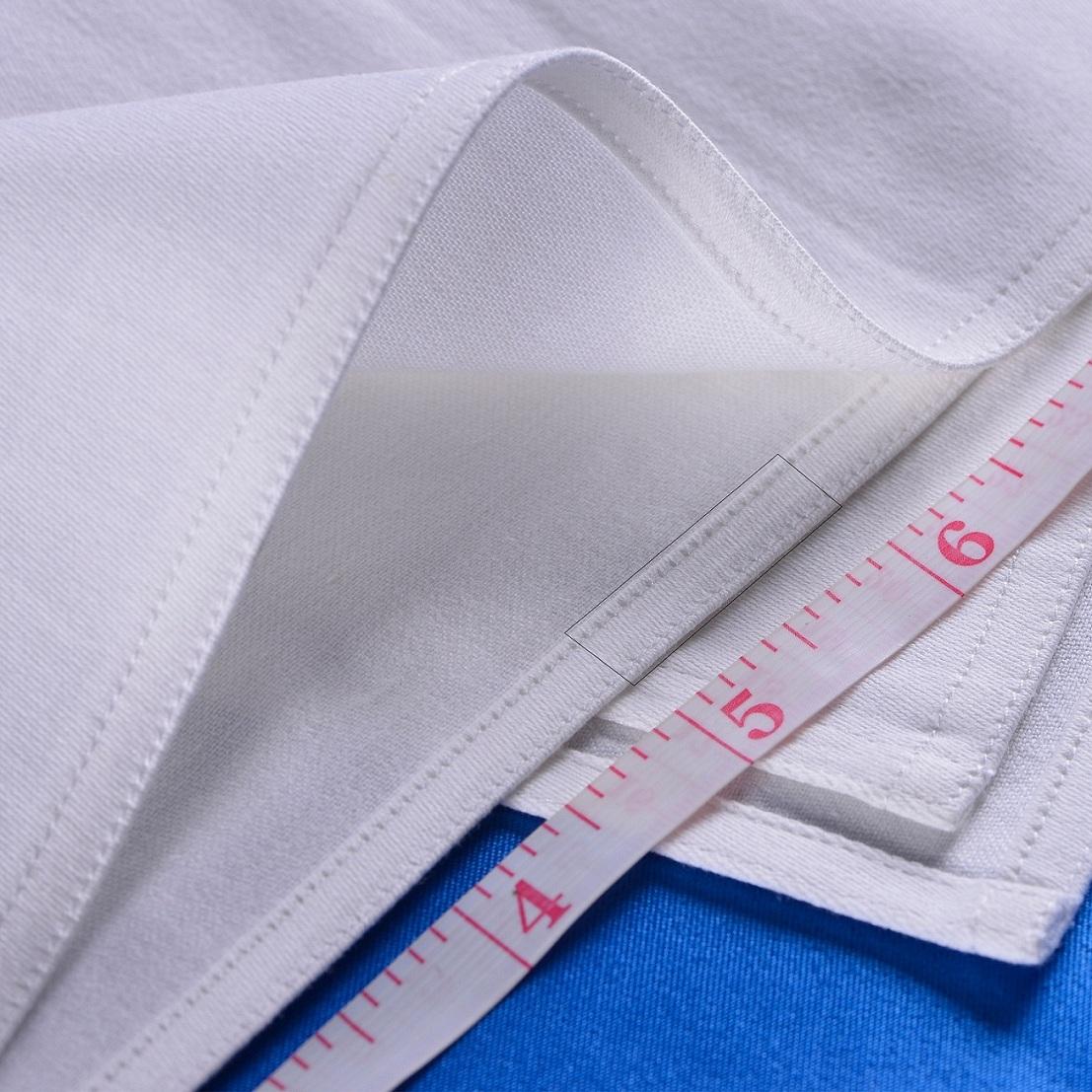 七星岛布艺白棉口布的针距