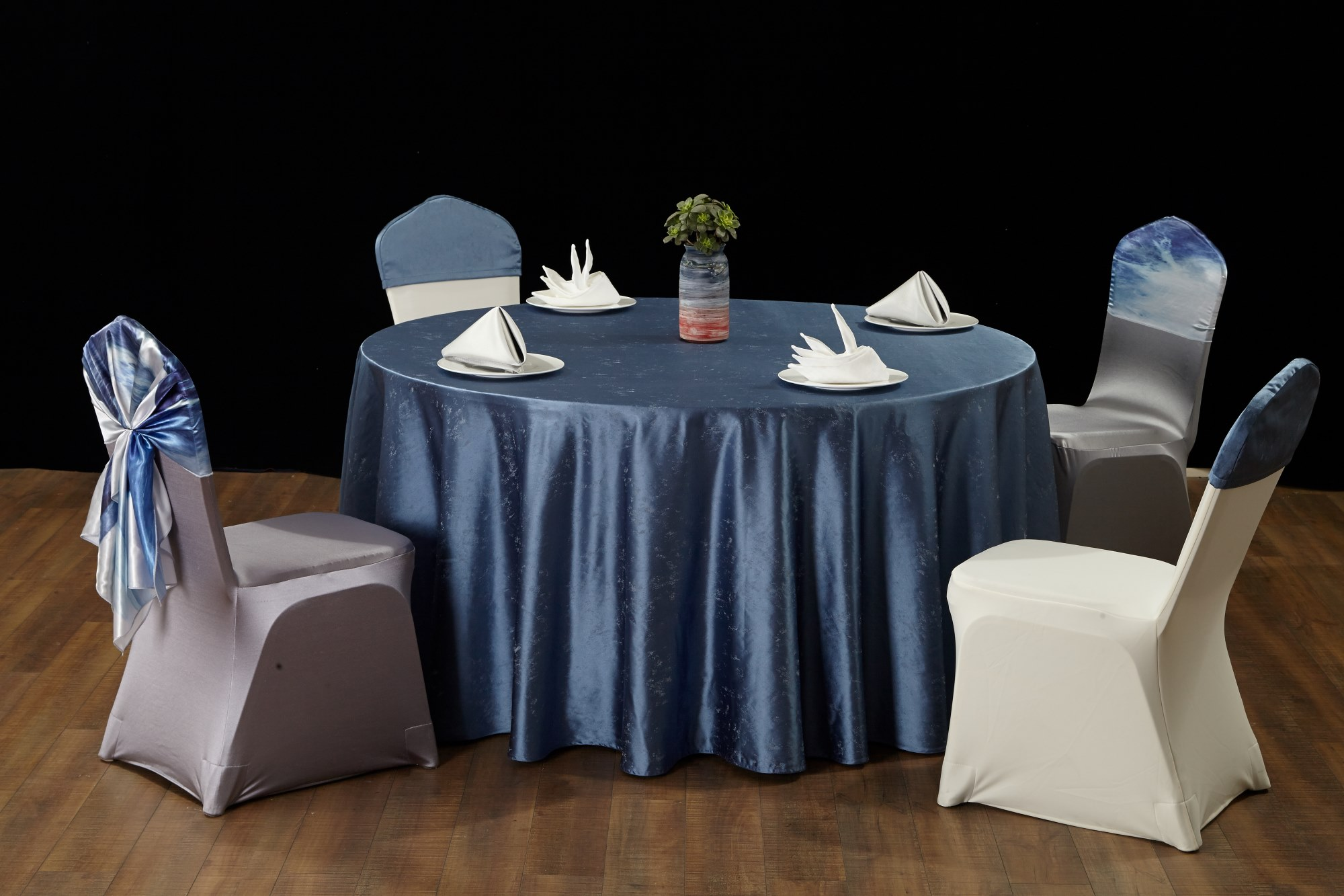 星空系列蓝桌布