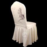 七星岛椅套装饰半身头套——桃花 -七星岛椅套装饰