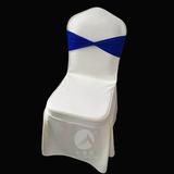 七星岛蓝色系双层弹力交叉椅套头套 -七星岛交叉头套