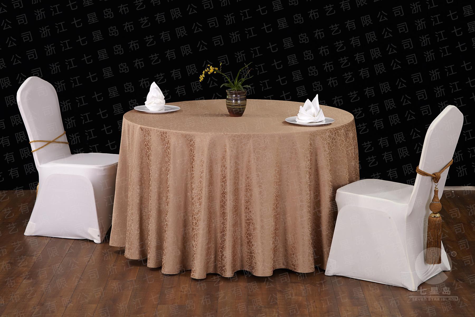 酒店宴会桌布椅套