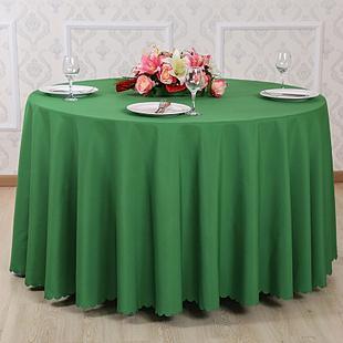 七星岛绿色台布