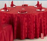 中国风古典婚宴大红玫瑰花桌布 -QXTB0606 QXTB0601 QXYT023 QXKB012