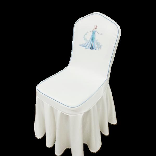 七星岛卡通椅套定制-米奇老鼠,冰雪公主