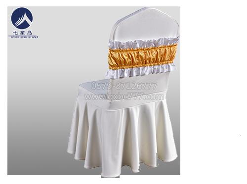 酒店椅套装饰头套及包头巾-酒店椅套装饰头套及包头巾
