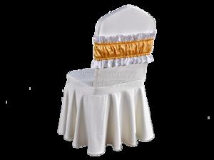 酒店椅套装饰头套及包头巾 -酒店椅套装饰头套及包头巾