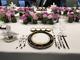 厦门金砖峰会夫人宴石榴家园刺绣餐盘垫,以石榴寓意夫人们多子多福、繁荣昌盛