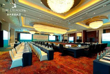 服务过杭州黄龙饭店G20峰会第四次协调人会议布草