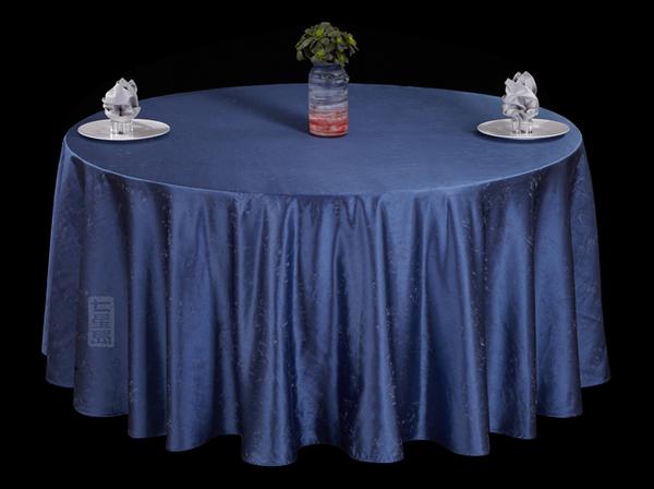 蓝色星空圆台布蓝色桌布深蓝桌布-
