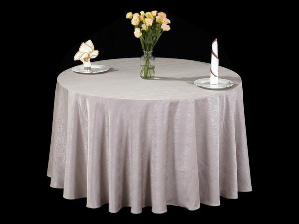 拉斯维加斯偏卡其牛皮纸色桌布-