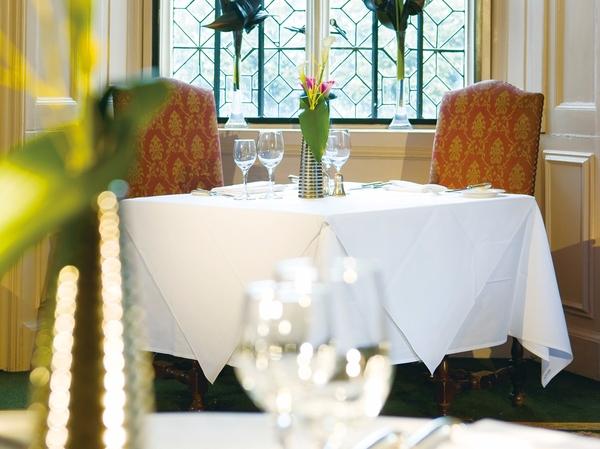 棉感本白西餐桌布西餐白台布五星酒店棉桌布-