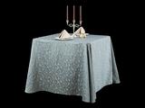 三维钴蓝时尚桌布涤棉桌布色织桌布
