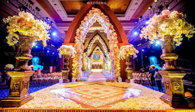婚礼宴会厅效果图