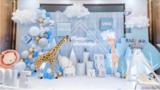 酒店宝宝宴的流行主题布草设计