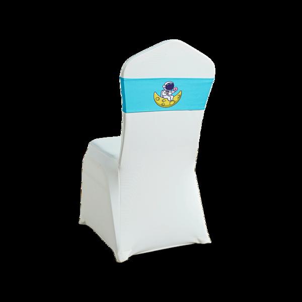 七星岛卡通宇航员一字椅弹力子装饰带-TT