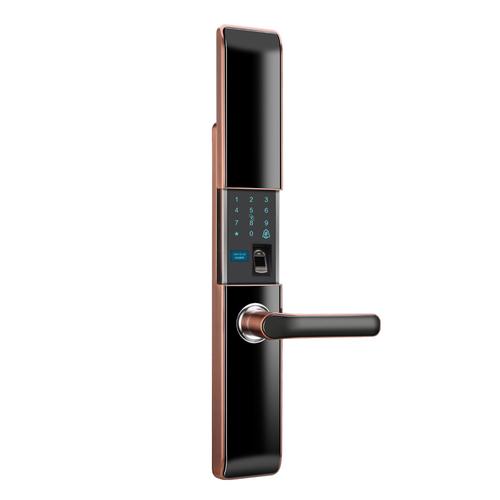 智能锁-ZN9-红古铜