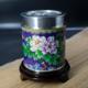 景泰蓝锡罐-