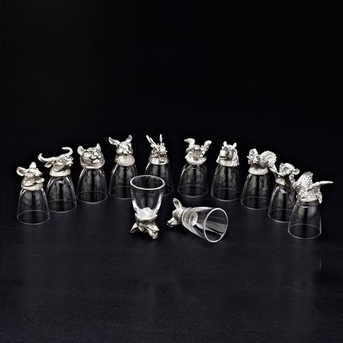 十二生肖白酒杯-YJ-12