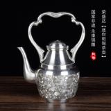 迷你斑锡茶壶
